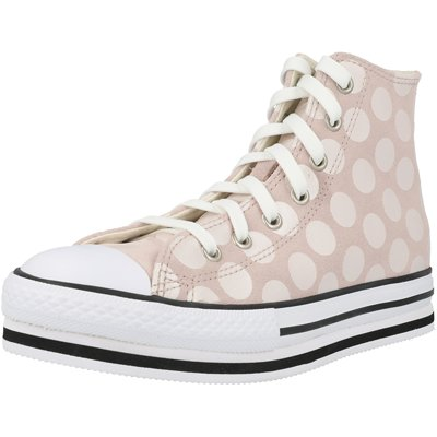 Chuck Taylor All Star EVA Lift Glitter Shine Hi Junior childrens shoes