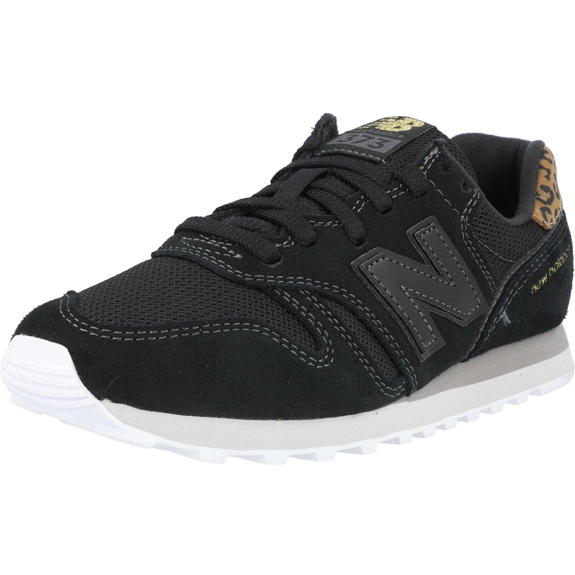New Balance 373 Black/Gold Suede
