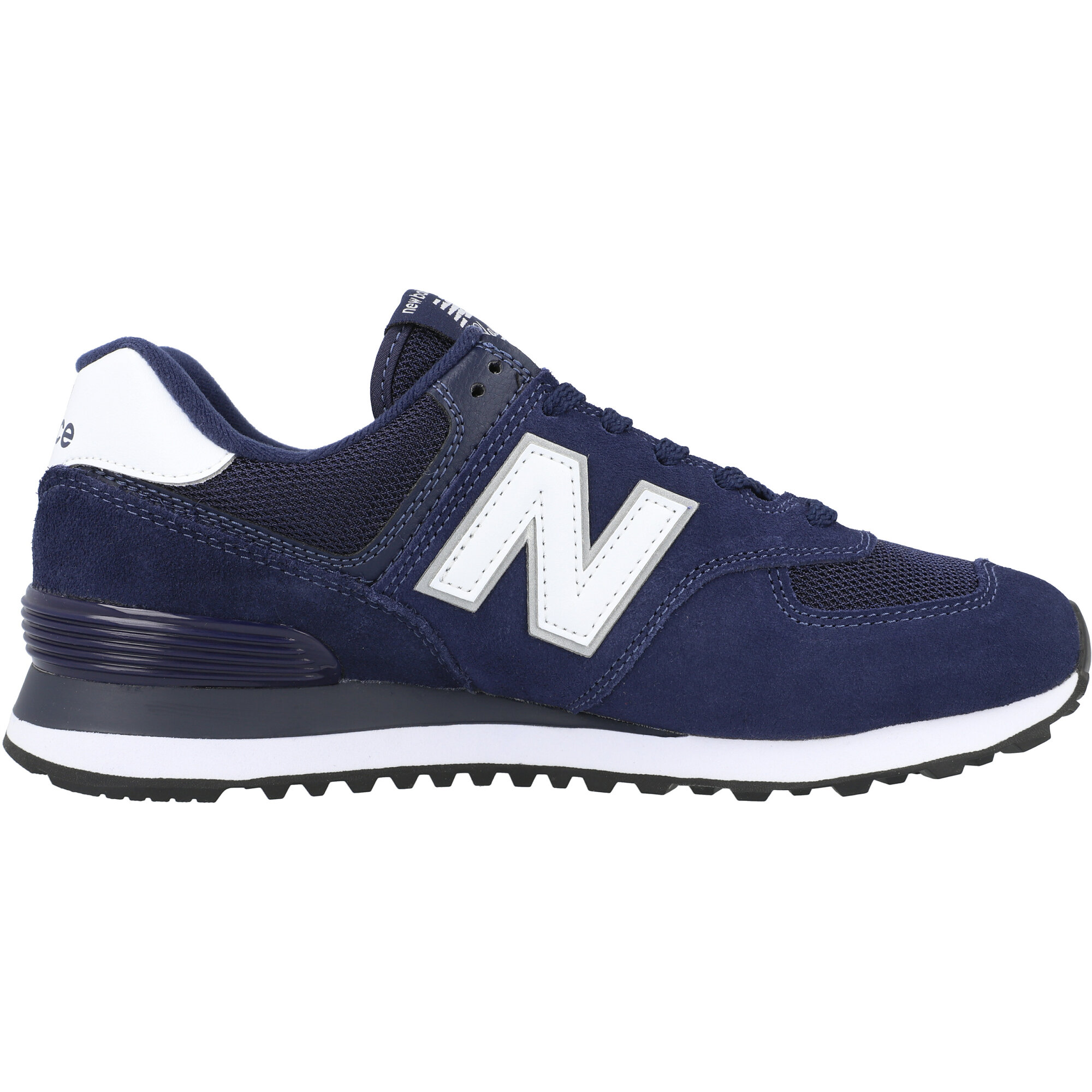 New Balance 574 Eclipse/White Suede