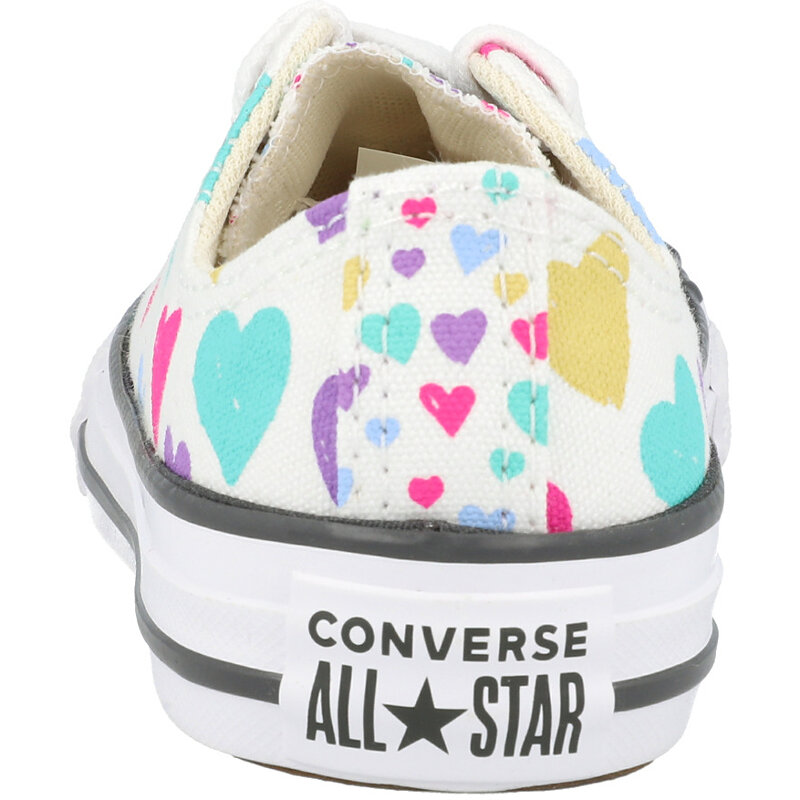 Converse Chuck Taylor All Star Ox Always On Hearts Natural Ivory/Storm Wind Canvas
