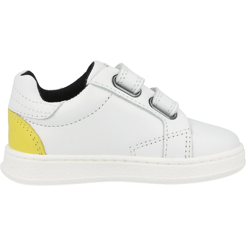 BOSS Trainers White Leather