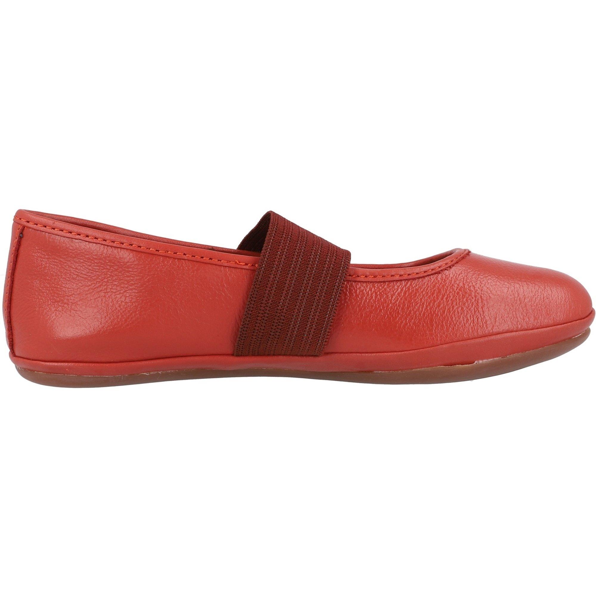 Camper Kids Right Medium Red Leather