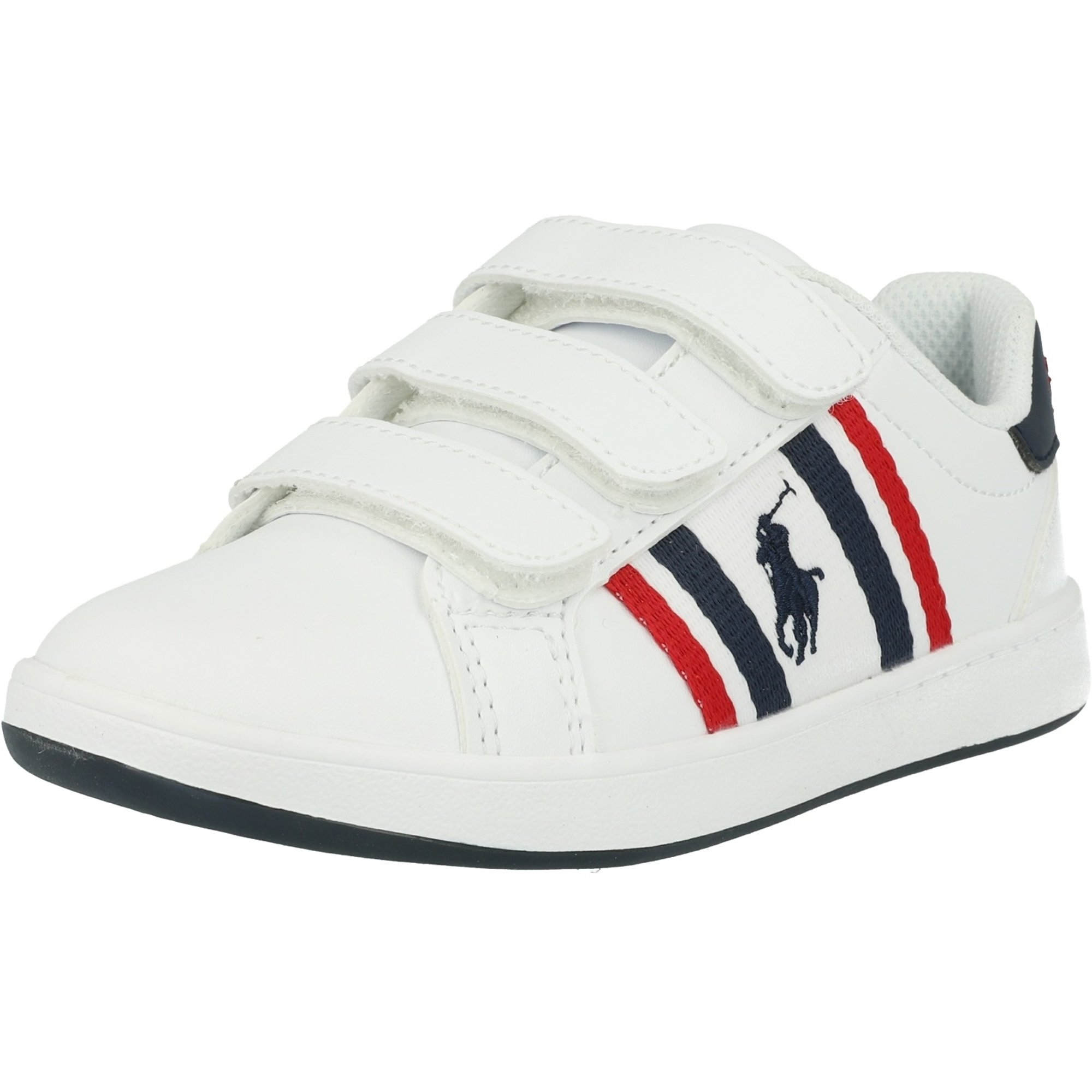 Polo Ralph Lauren Oaklynn EZ C White/Navy Smooth