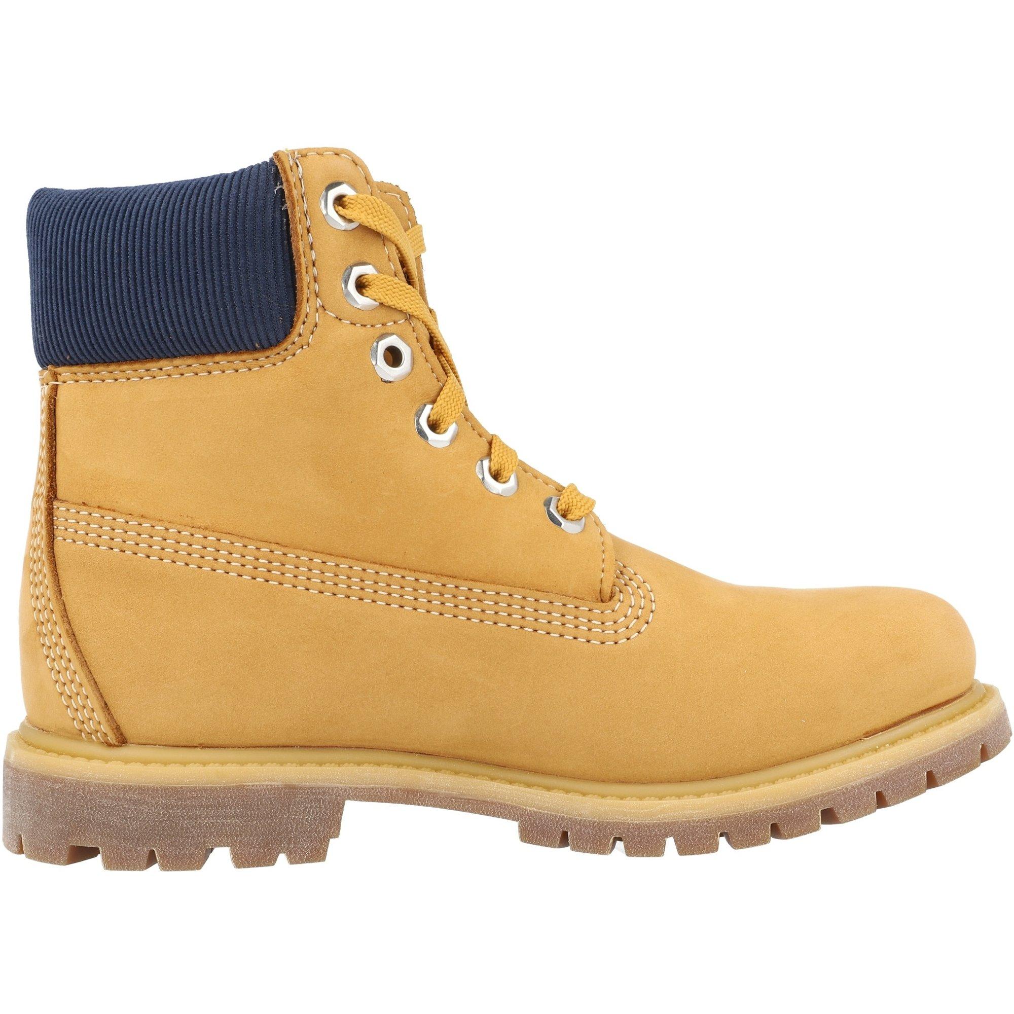 Timberland Premium 6 Inch Waterproof Boot Wheat Nubuck