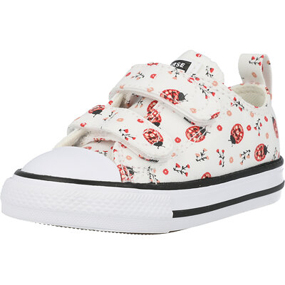 Chuck Taylor All Star 2V Ox Flowery Bugs Infant childrens shoes