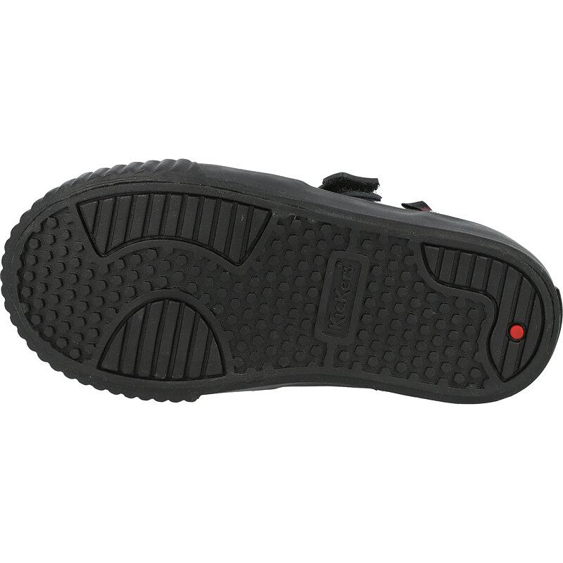 Kickers Tovni Brogue Shoe I Black Patent Leather