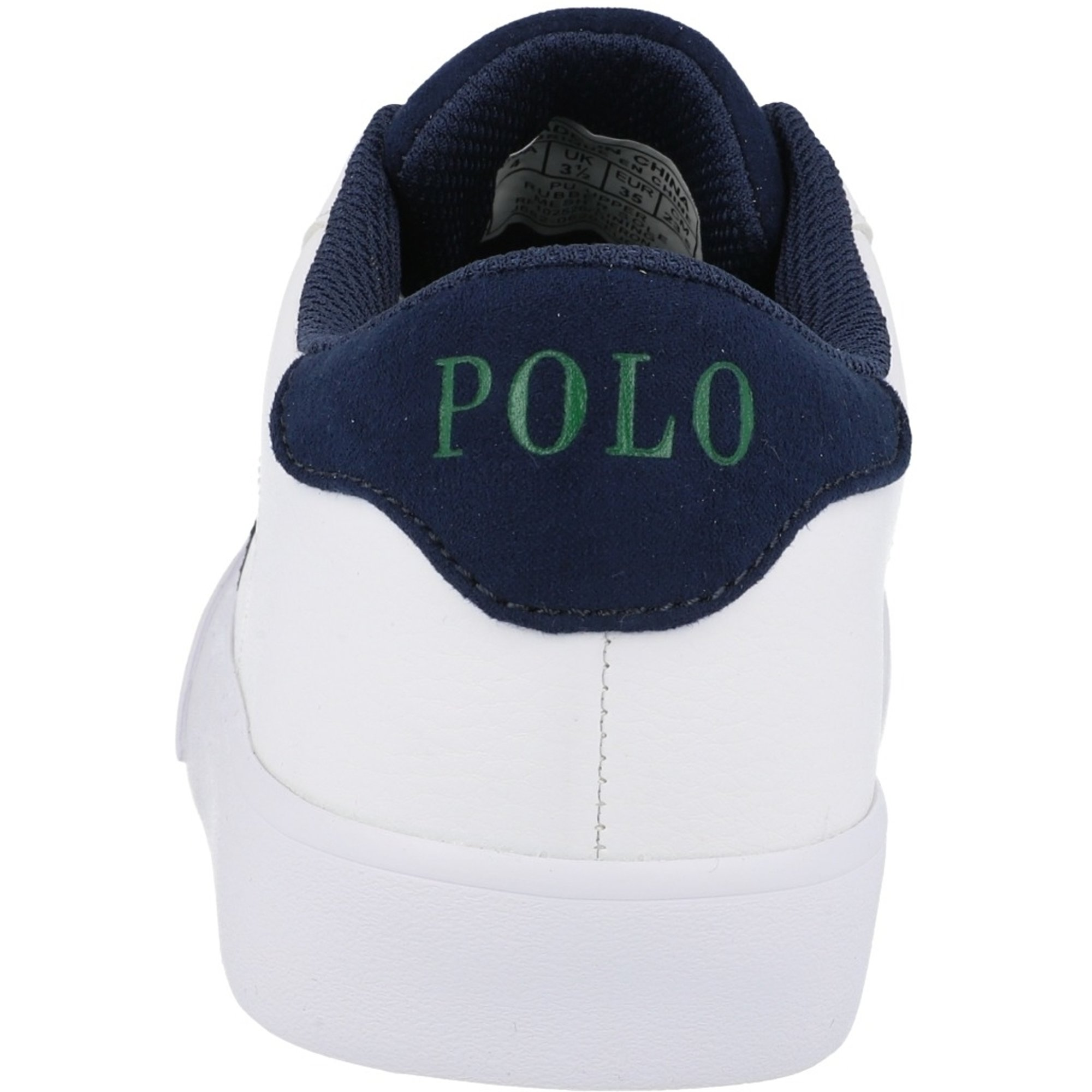 Polo Ralph Lauren Theron III J White/Navy Tumbled