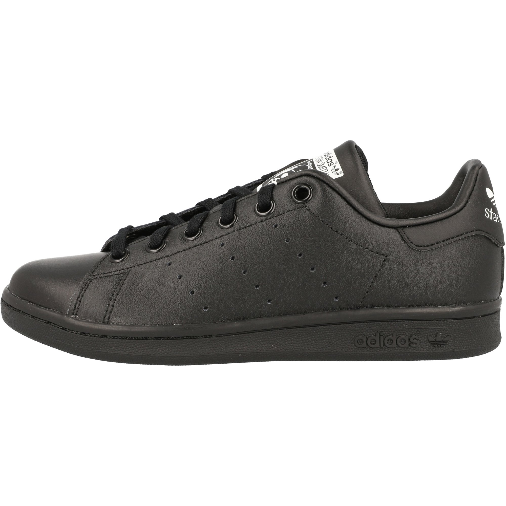 adidas Originals Stan Smith J Black Leather