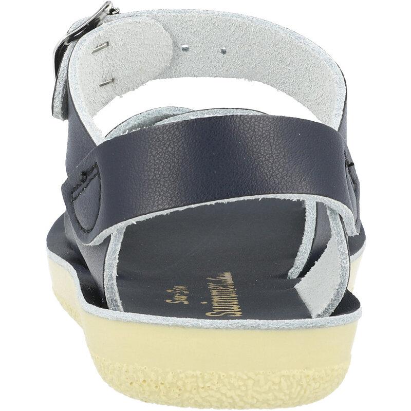 Salt Water Sandals Sun-San Swimmer Navy Leather