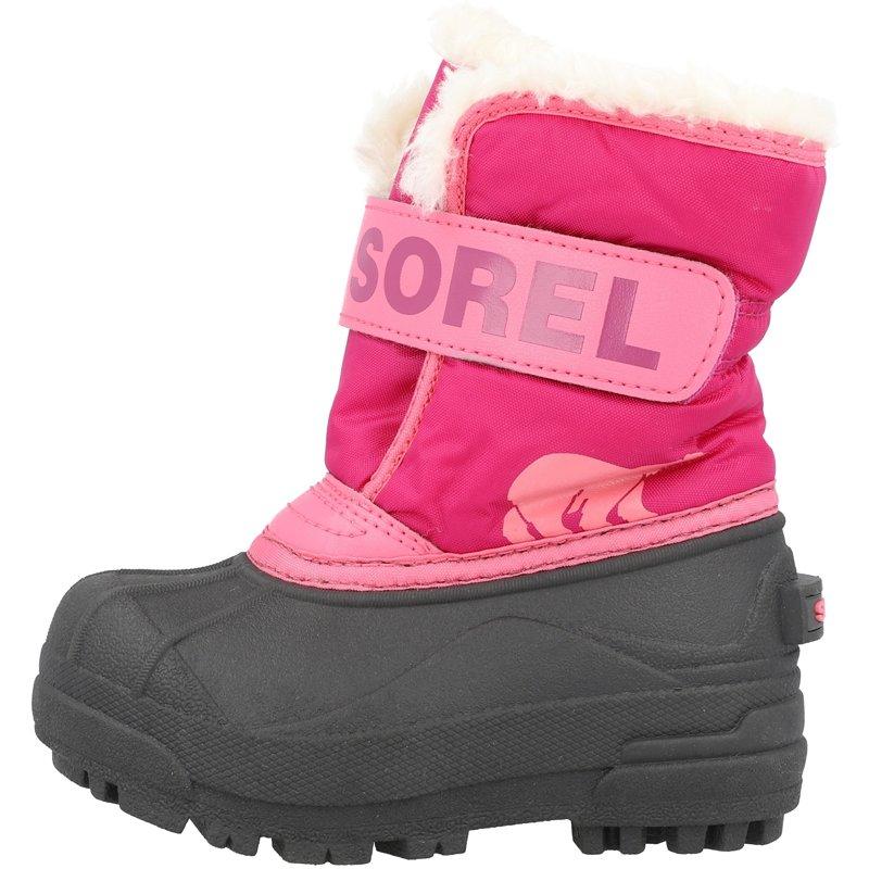 Sorel Snow Commander C Tropic Pink/Deep Blush Synthetic