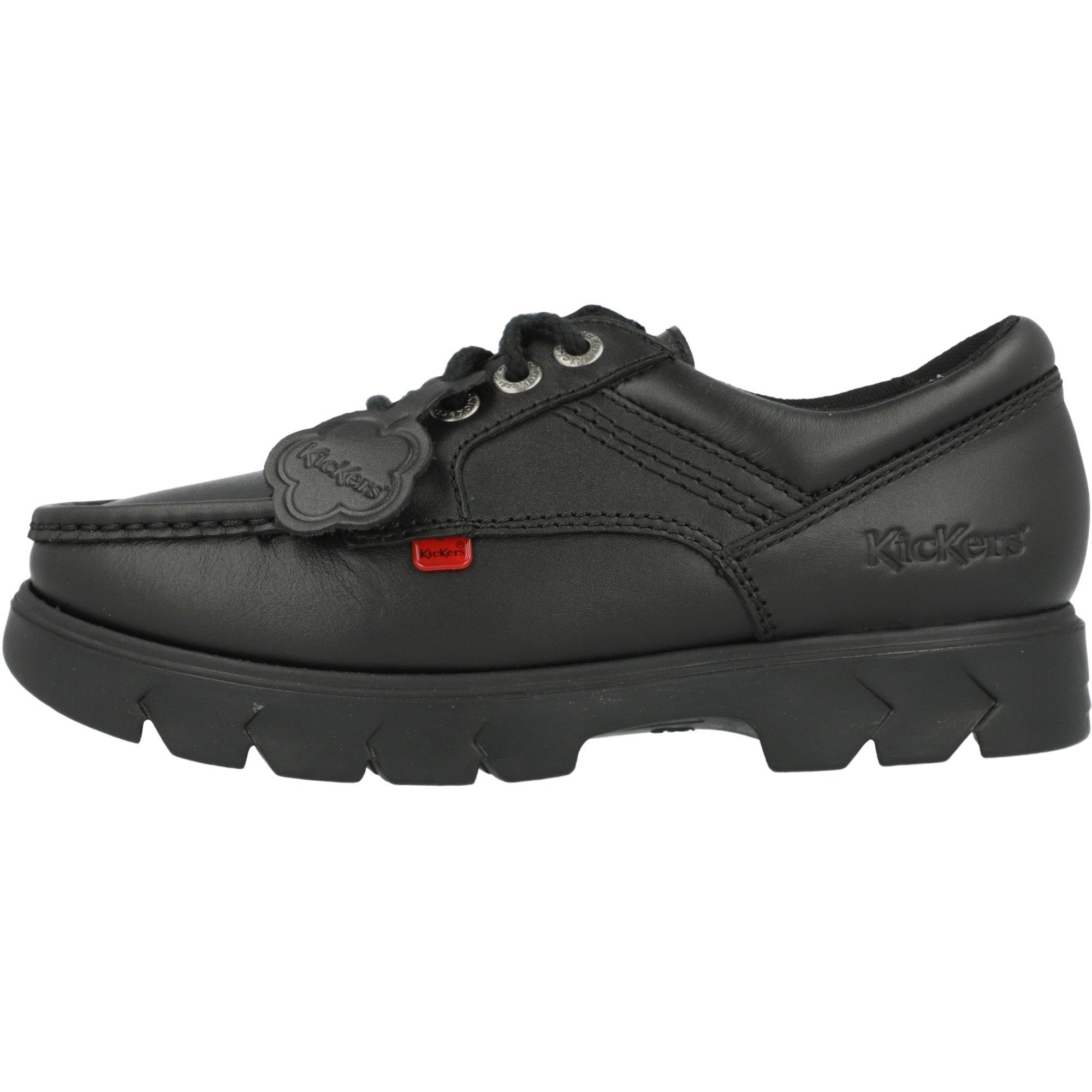 Kickers Lennon Lo Black Leather