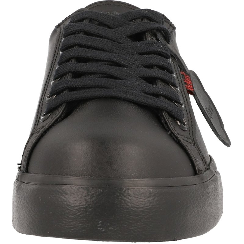Kickers Tovni Lacer Y Black Leather