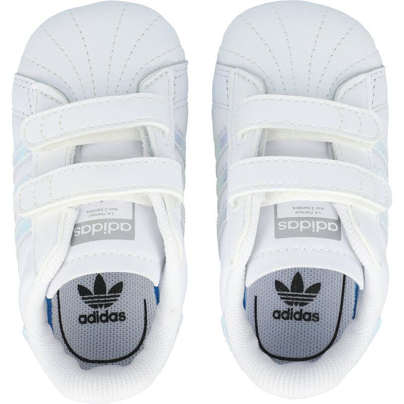 adidas Originals Superstar Crib White/Iridescent Leather