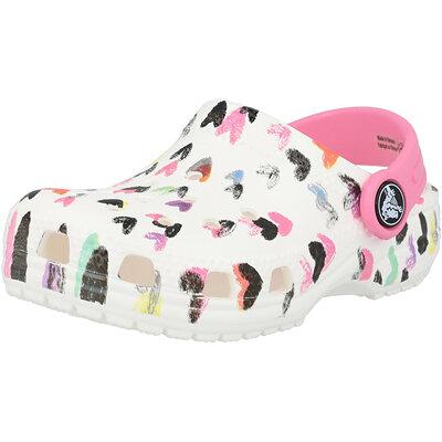 Kids Classic Heart Print Clog Infant childrens shoes