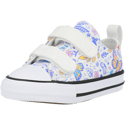 Chuck Taylor All Star 2V Ox Butterfly Fun Butterfly Infant childrens shoes
