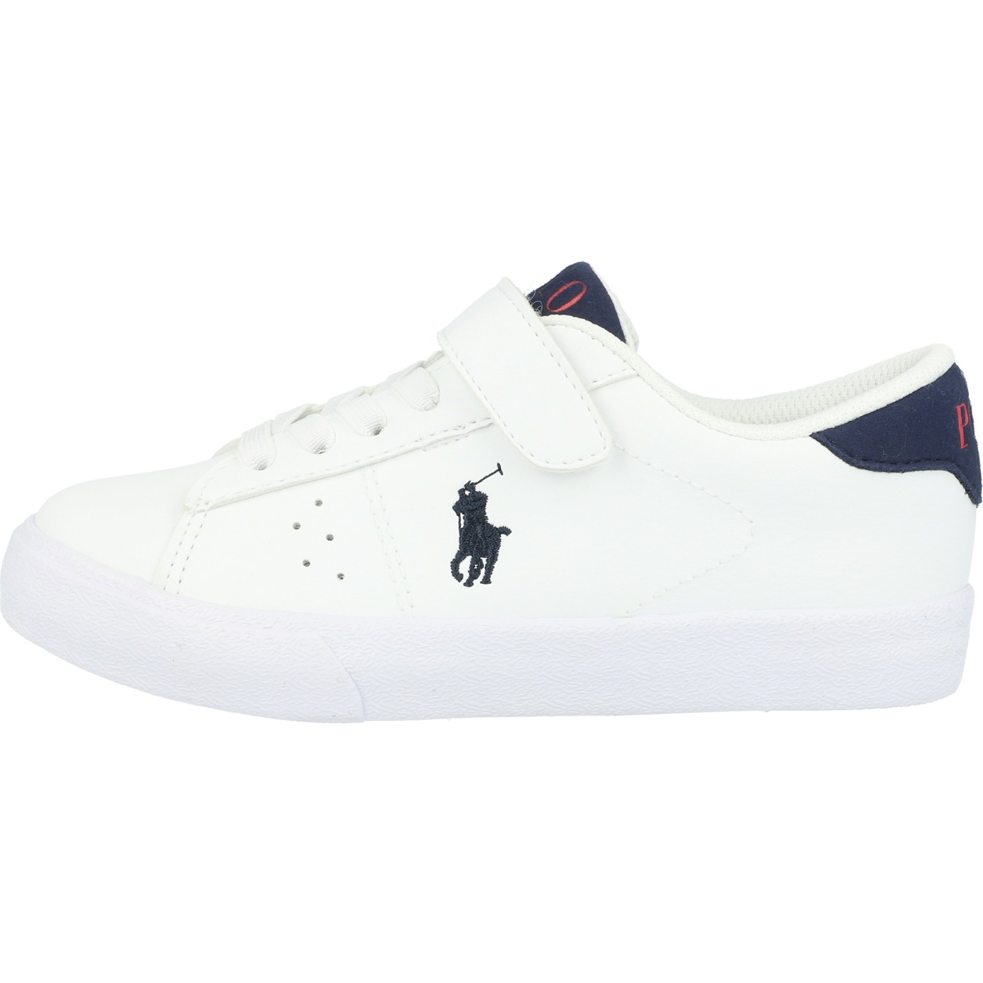 Polo Ralph Lauren Theron PS C White/Navy Tumbled