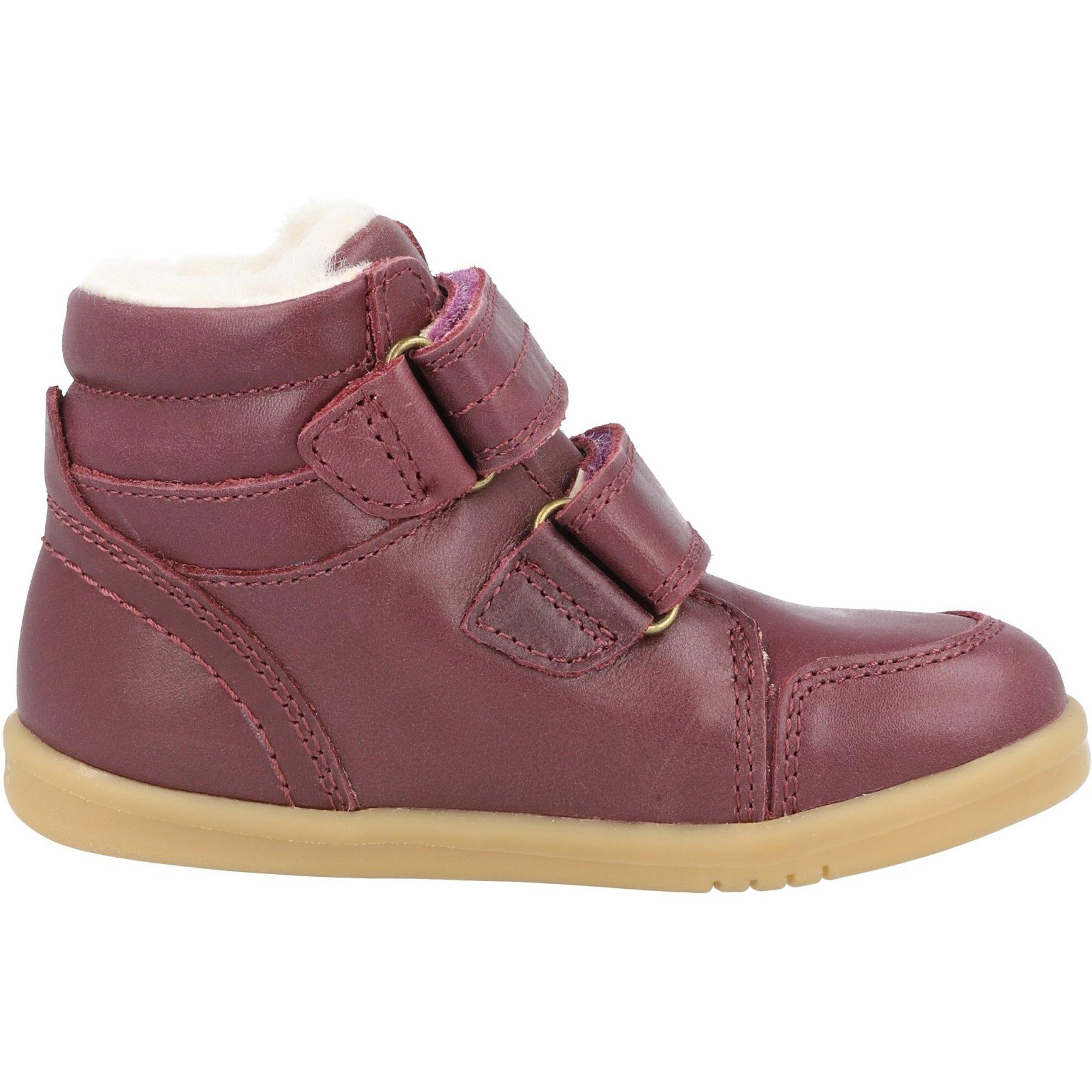 Bobux i-Walk Timber Arctic Plum Quickdry Vintage-Look Leather