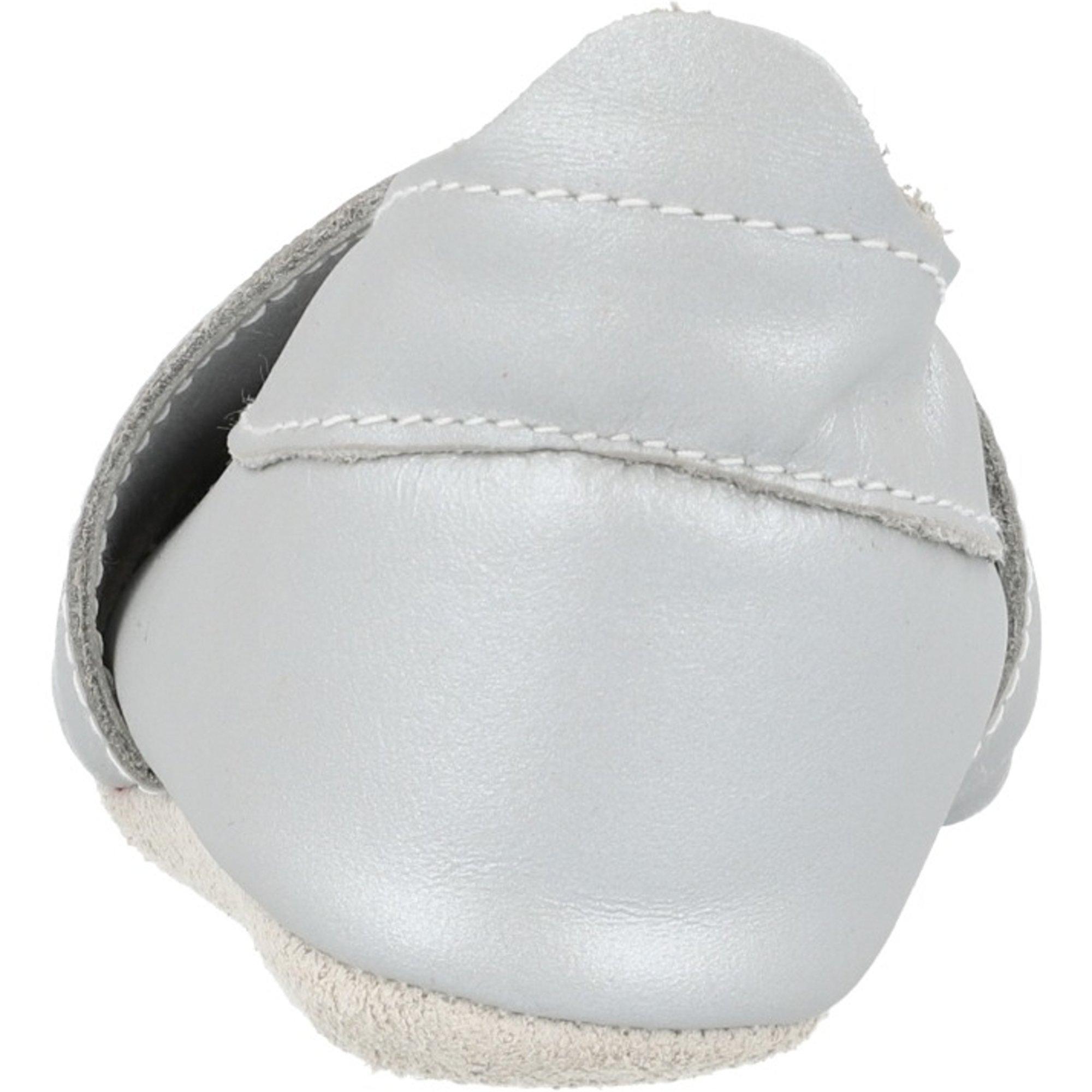 Bobux Soft Sole Rocket Silver Leather
