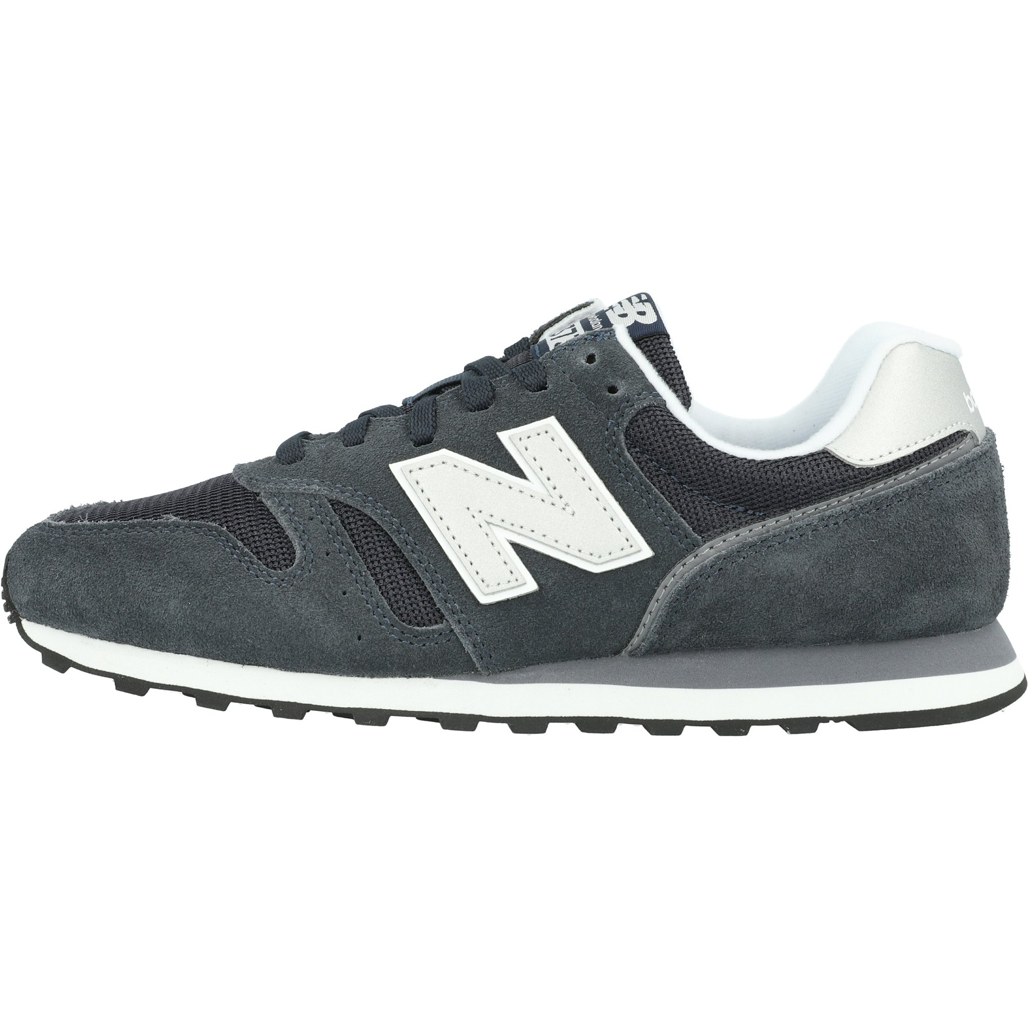 New Balance 373 Outerspace/White Suede