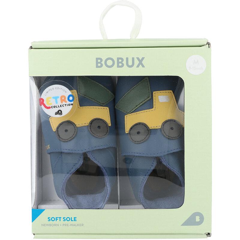 Bobux Soft Sole Tipper Cobalt Leather