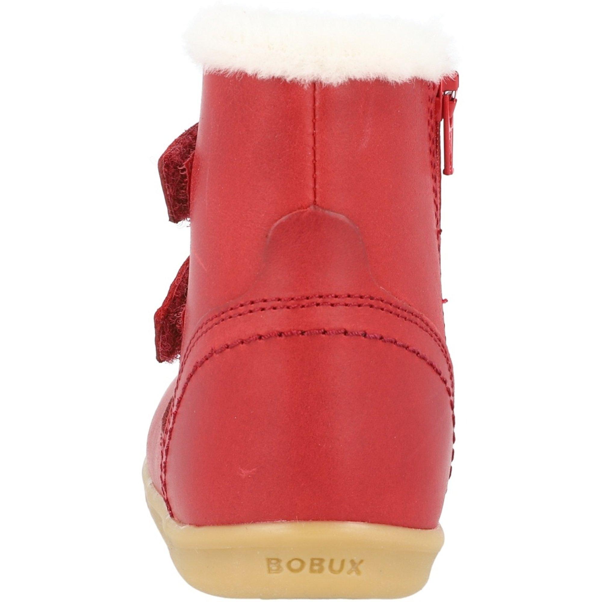 Bobux i-Walk Aspen Rio Red Leather