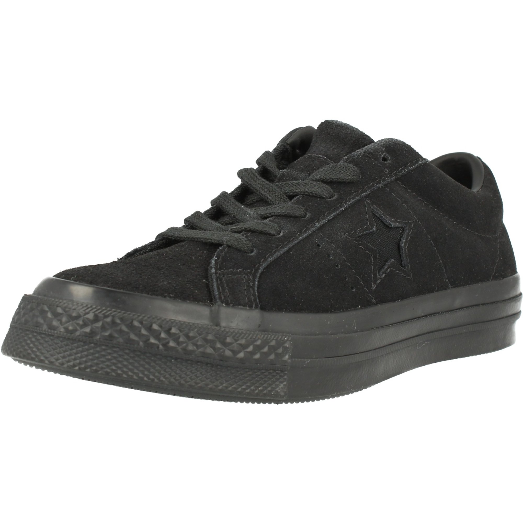 Star Ox Black Suede - Trainers Shoes