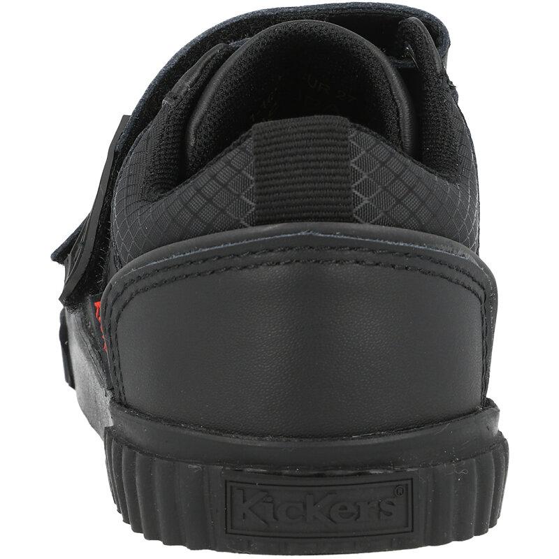 Kickers Tovni Twin Flex I Black Leather