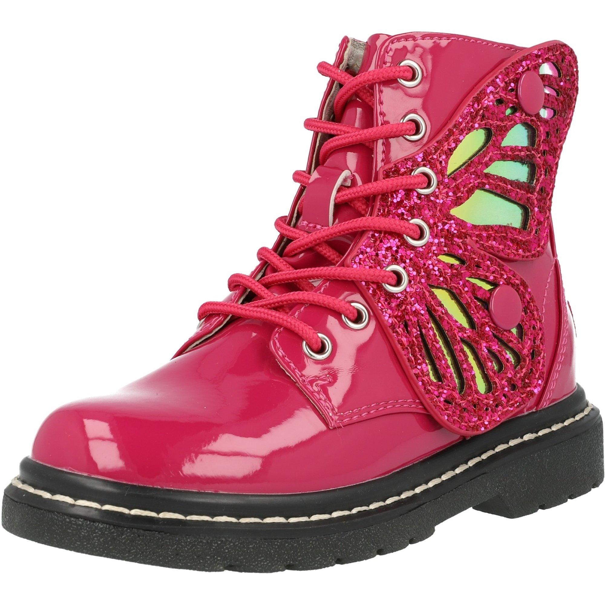 Lelli Kelly Fairy Wings Mid Pink Patent