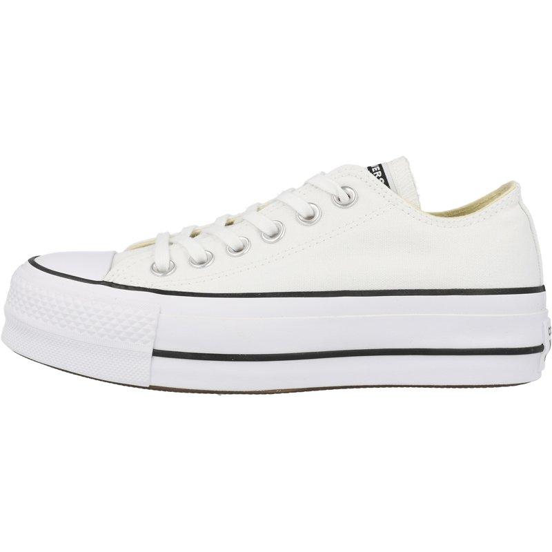 Converse Chuck Taylor All Star Lift Ox White/Black Canvas