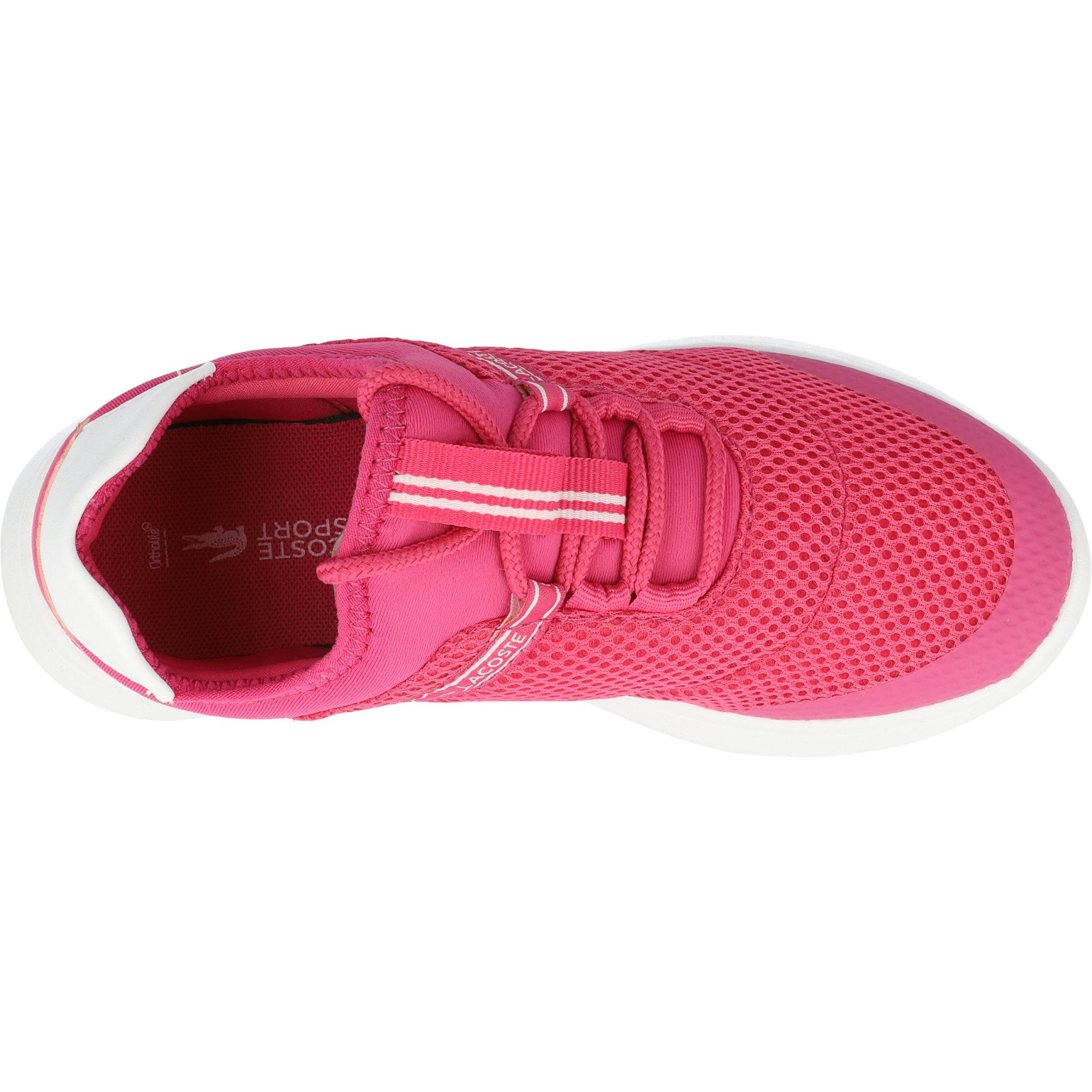 Lacoste LT Dash 119 1 Dark Pink/White Textile