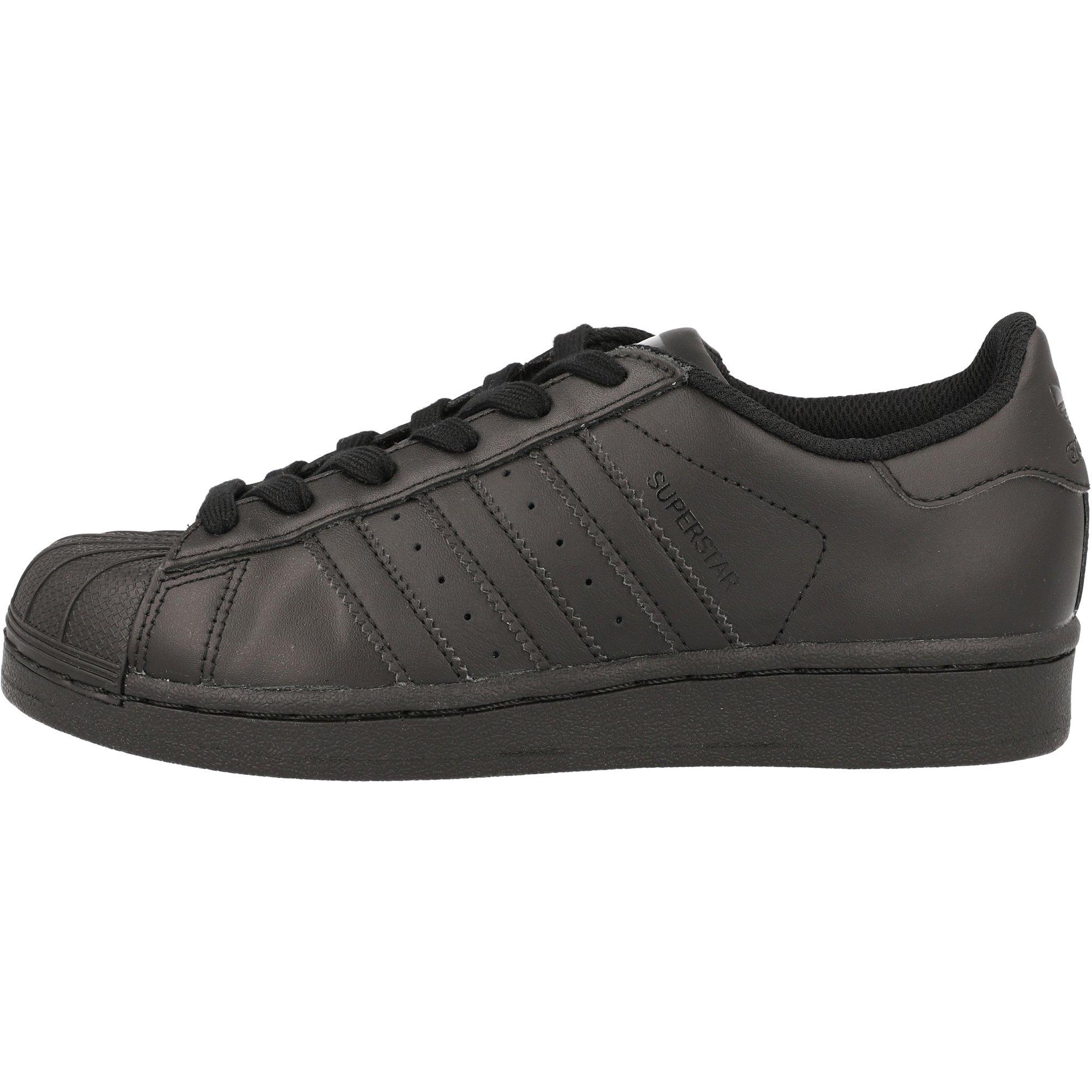 adidas Originals Superstar Foundation J Black Leather