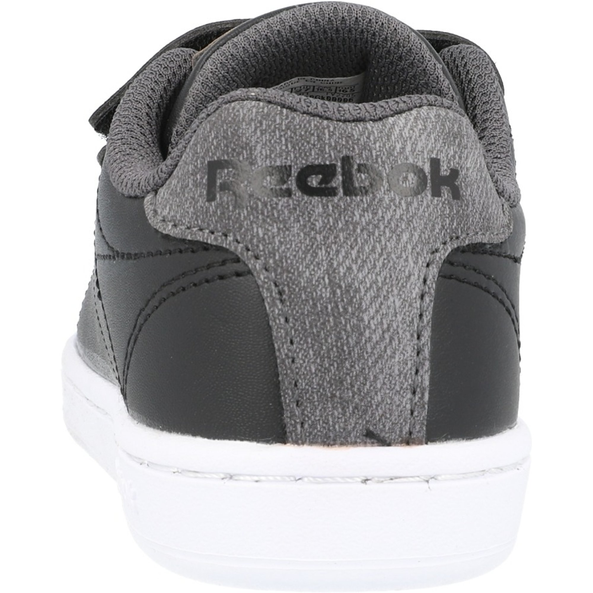 Reebok Classic Royal Complete Black//Grey Synthetic Child Trainers Shoes