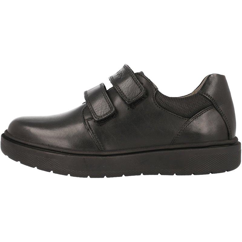 Geox J Riddock H Black Leather