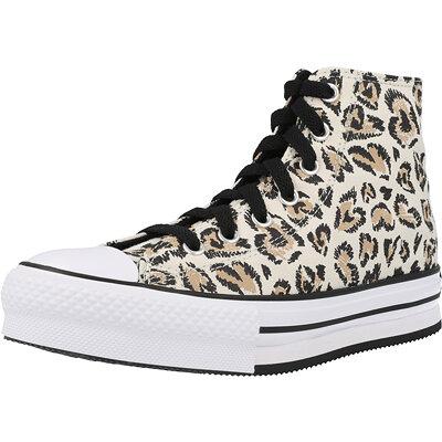 Chuck Taylor All Star EVA Lift Hi Jungle Cats Junior childrens shoes