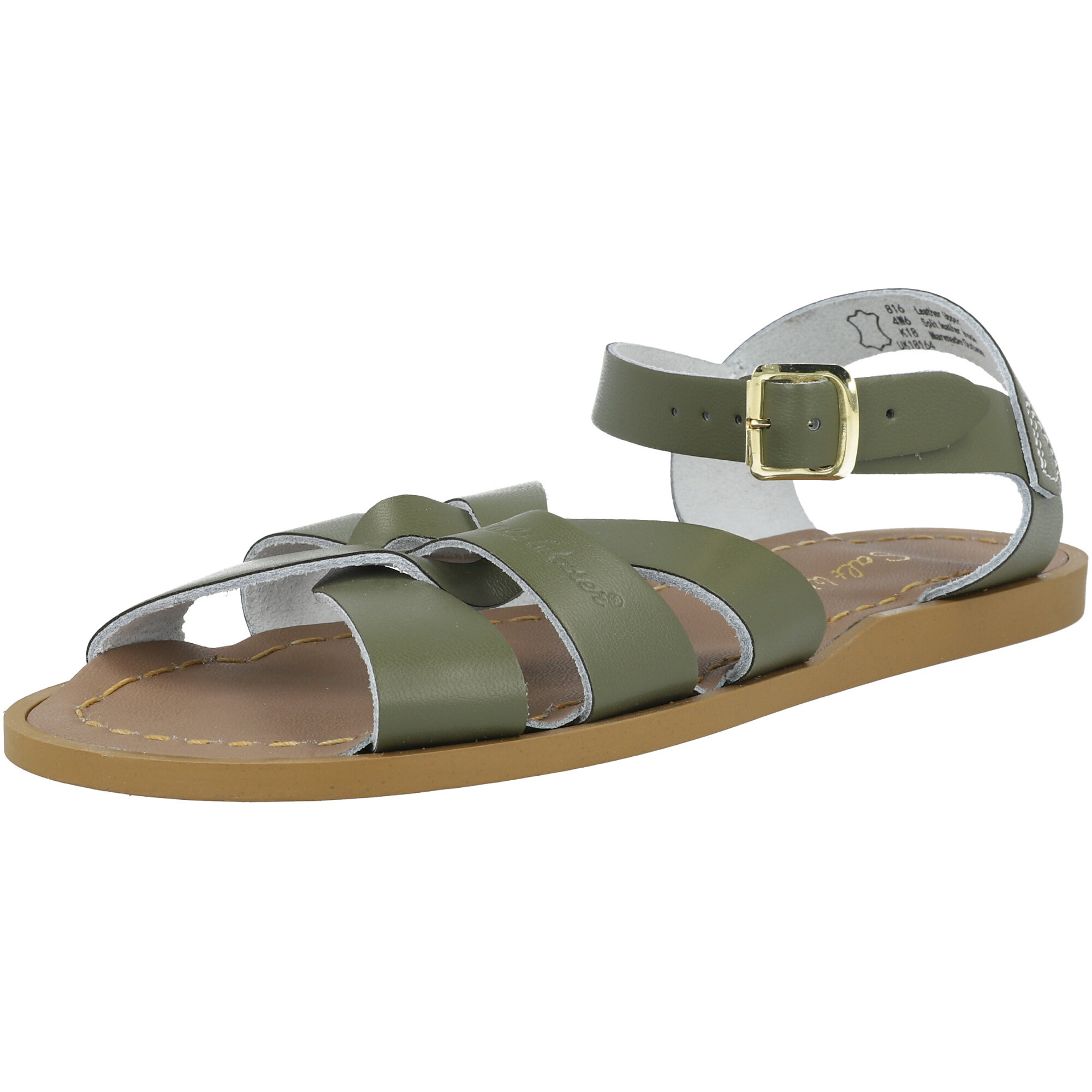 Salt Water Sandals Original Olive Leather