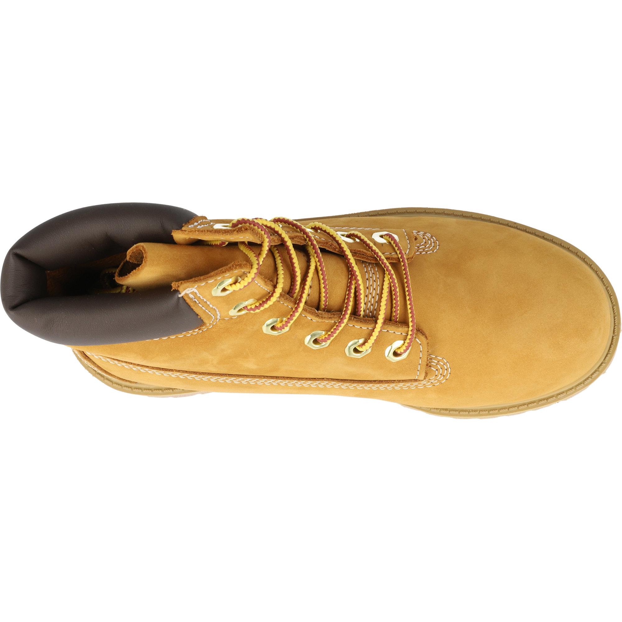 Timberland Premium 6 Inch Waterproof Boot J Wheat Nubuck