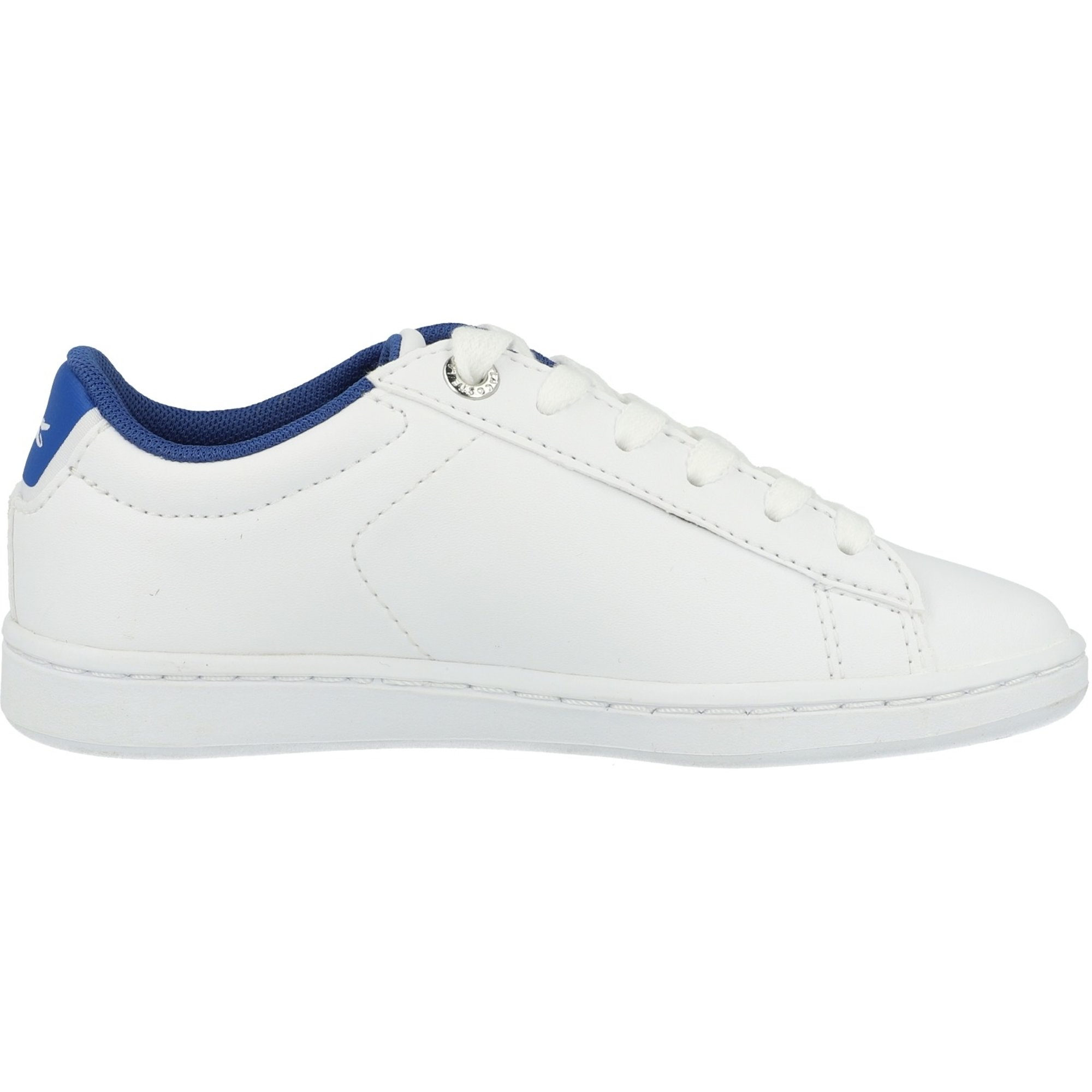 Lacoste Carnaby Evo 219 1 White/Blue Synthetic