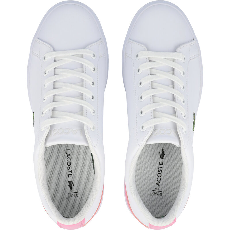 Lacoste Lerond 0120 1 J White/Light Pink Synthetic