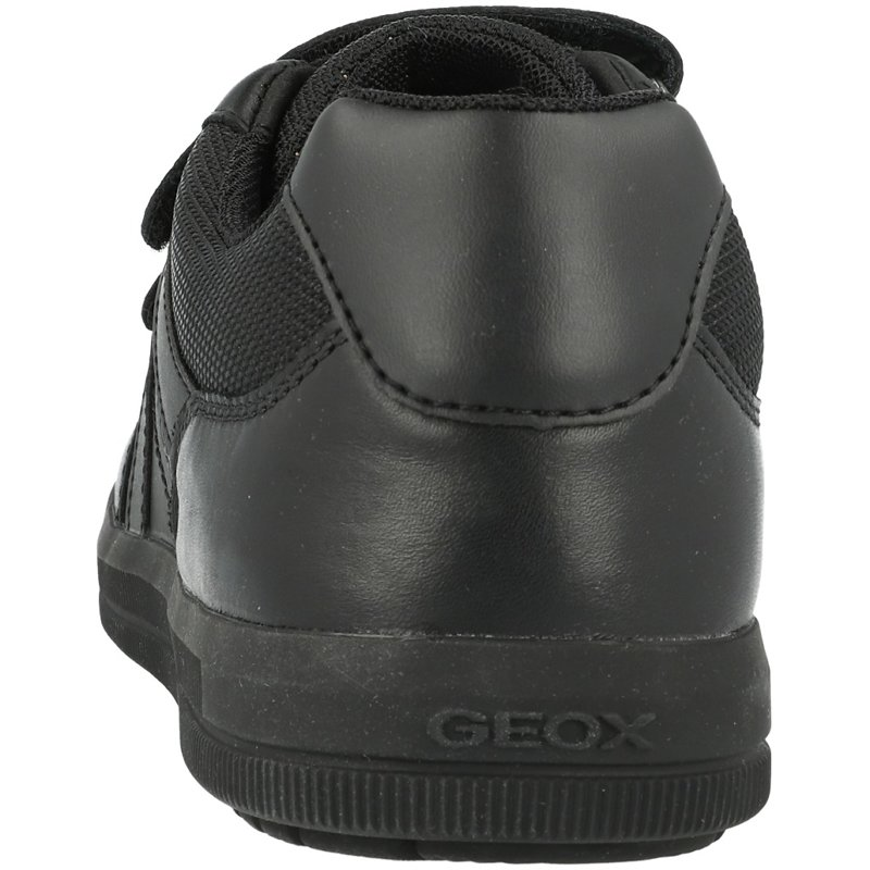 Geox J Arzach E Black Leather