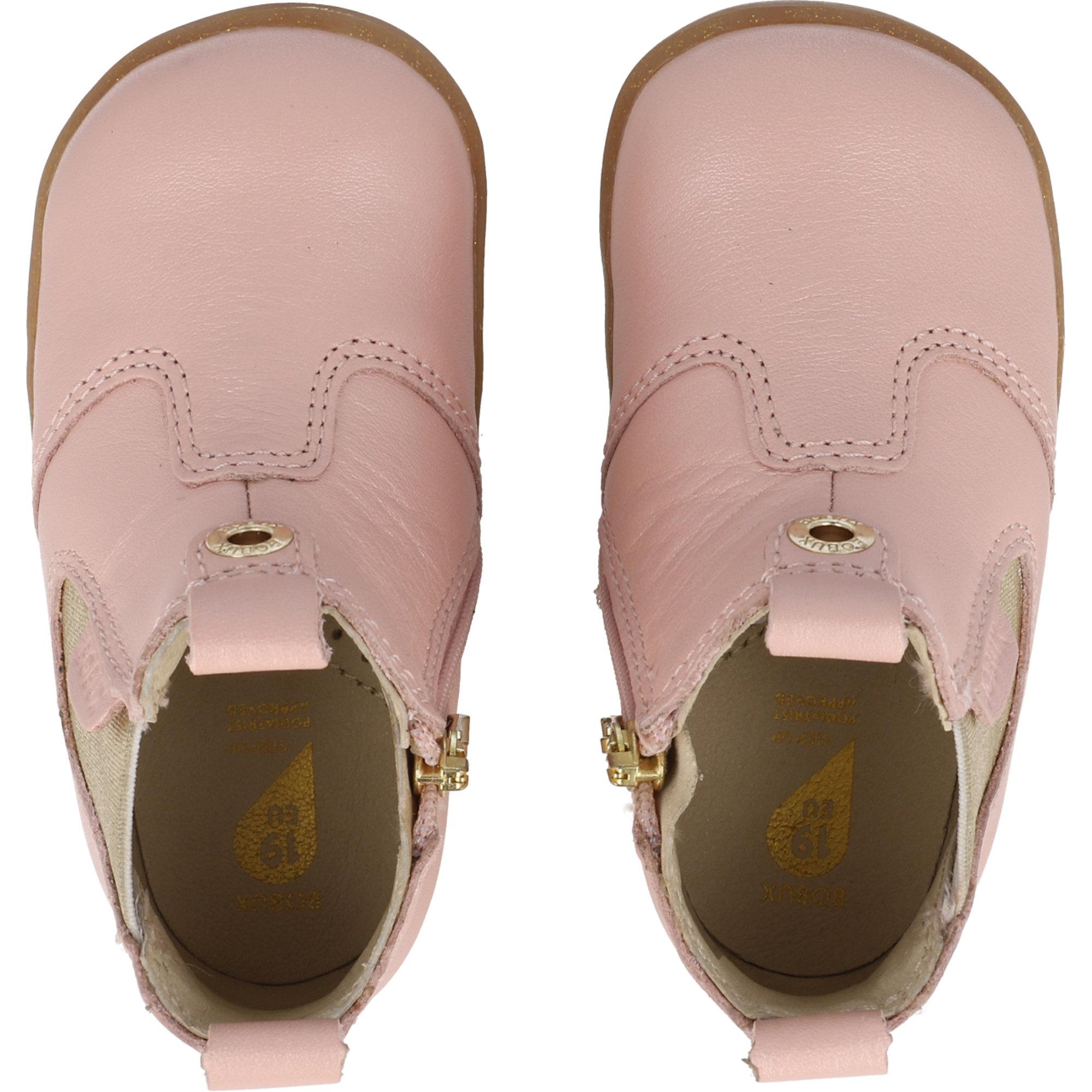 Bobux Step Up Jodhpur Seashell Shimmer Quickdry Leather