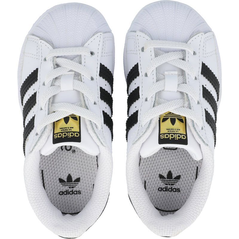 adidas Originals Superstar EL I White/Core Black Leather
