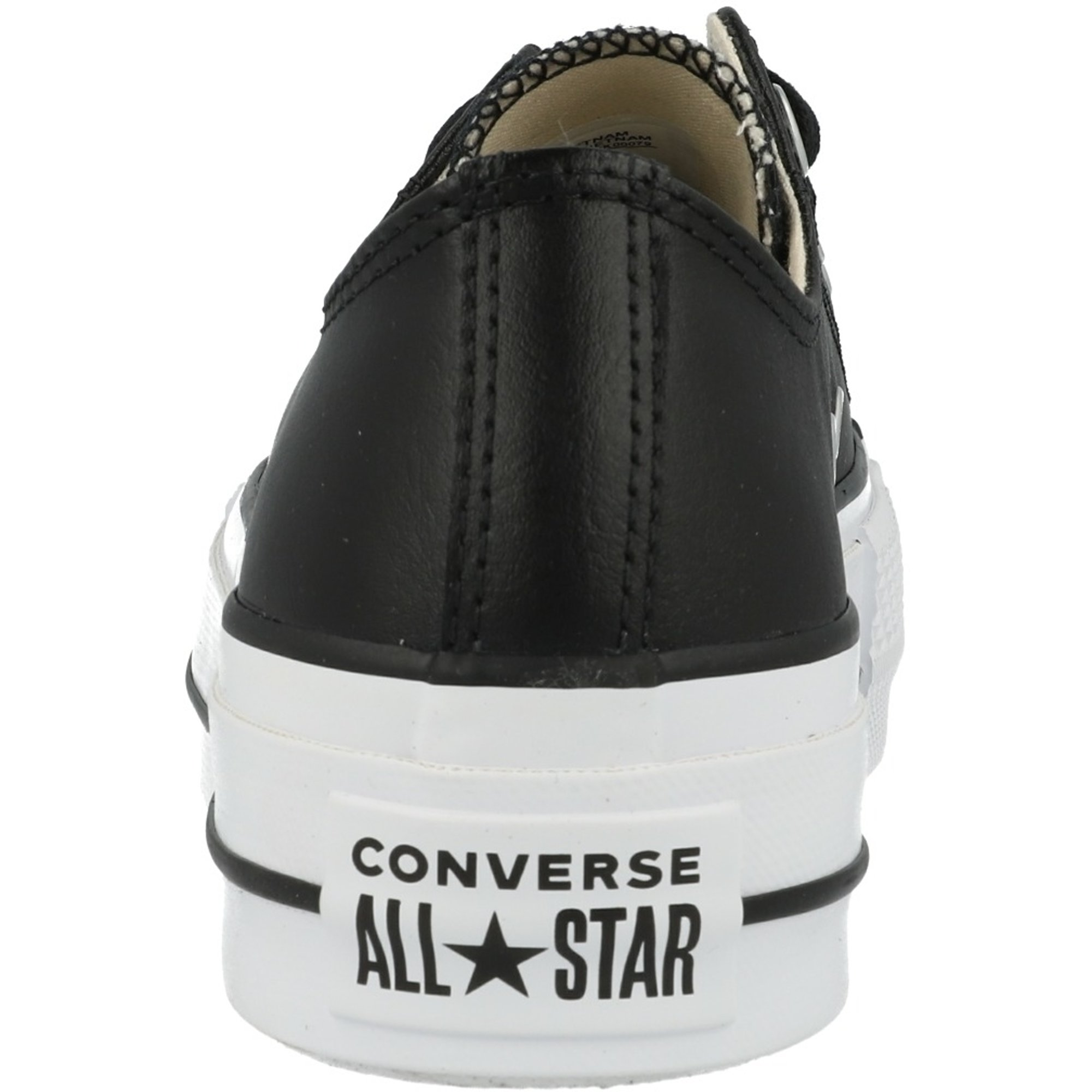 Converse Converse Chuck Taylor All Star Lift Clean Ox Black/White Leather