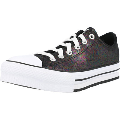 Chuck Taylor All Star EVA Lift Ox Iridescent Leather Junior childrens shoes