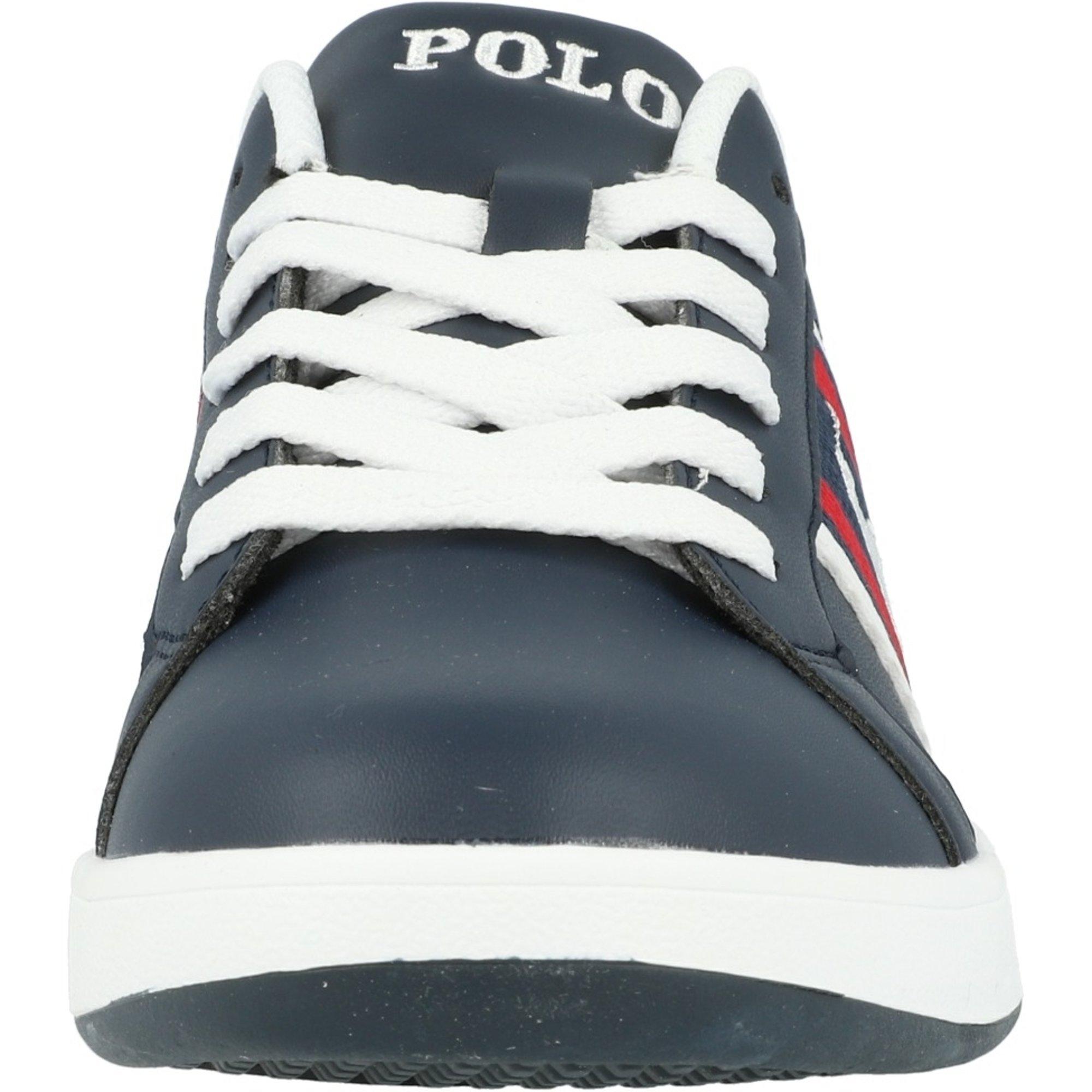 Polo Ralph Lauren Oaklynn J Navy/Red Smooth