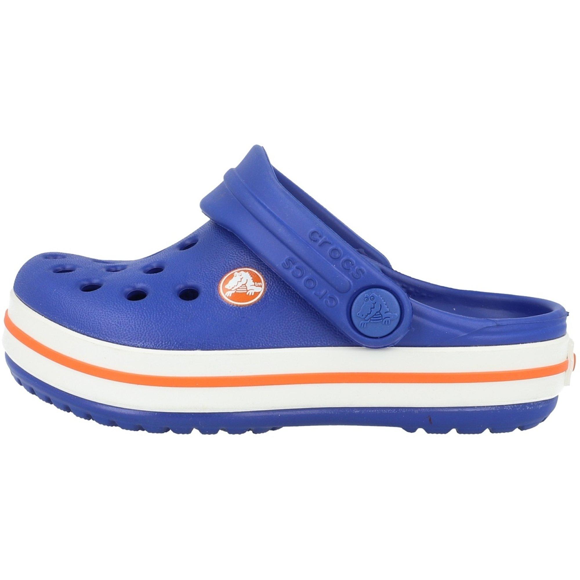 Crocs Kids Crocband Clog Cerulean Blue Croslite