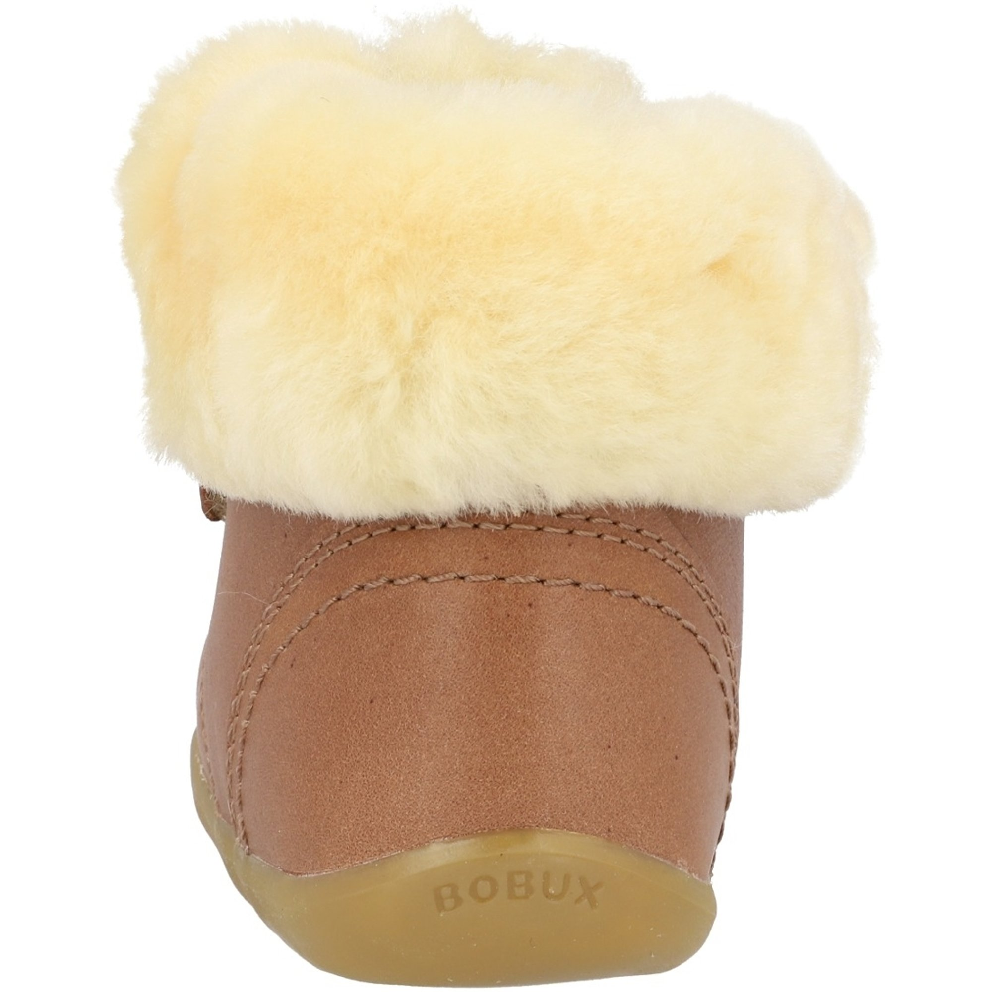 Bobux Step Up Desert Arctic Caramel Quickdry Vintage-Look Leather