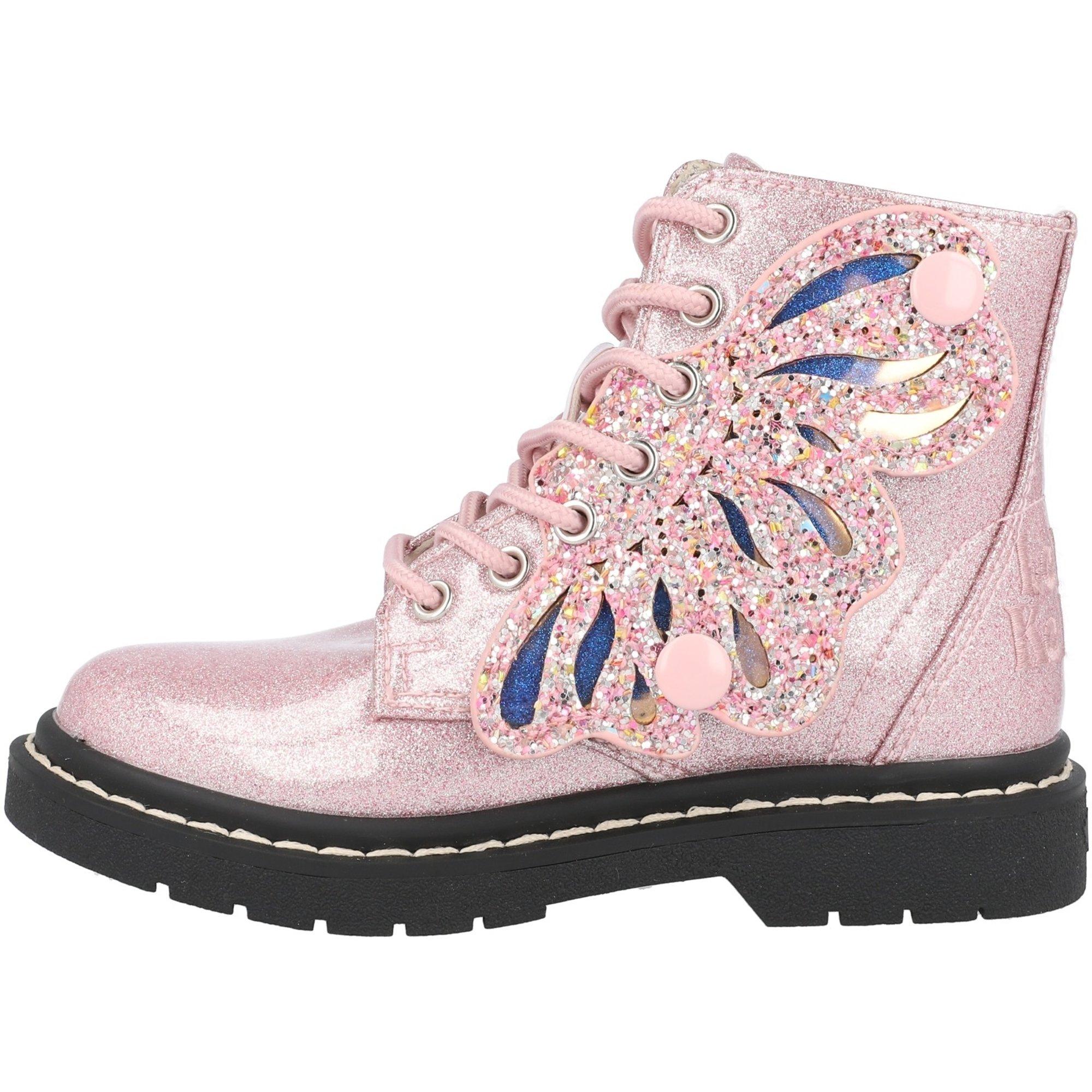 Lelli Kelly Fairy Wings Butterfly Pink Glitter