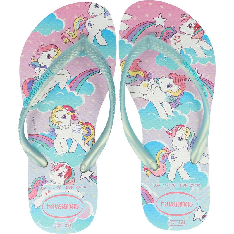 Havaianas Kids Slim My Little Pony White Rubber